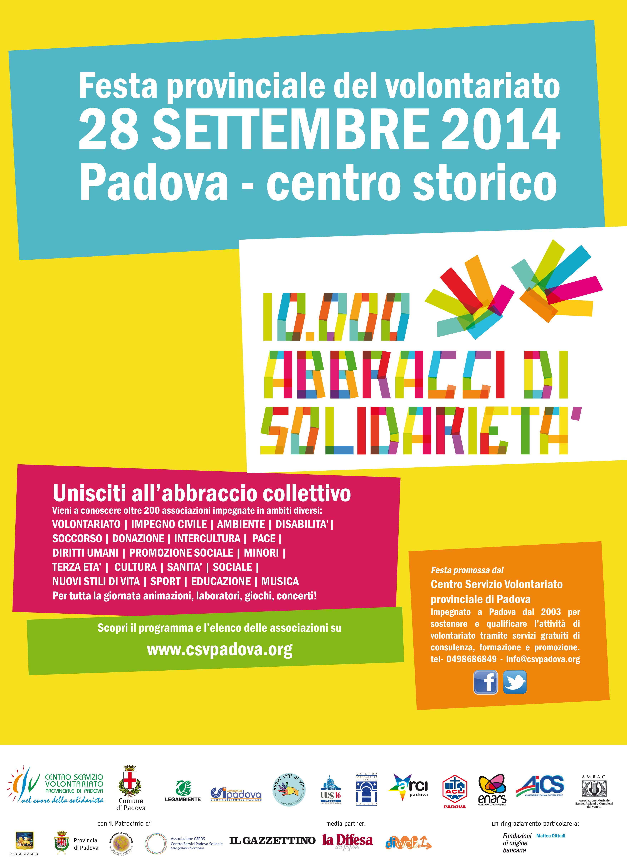 festa del volontariato 2014 nelle piazze del centro