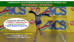 Interprovinciali aics di pattinaggio artistico